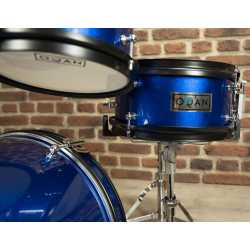 U9448 - Ultimate CourierBag DeLuxe Steel Grey, Orange inside